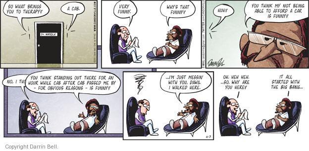 Comic Strip Darrin Bell  Candorville 2010-11-07 psychologist