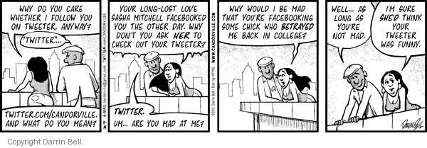 Comic Strip Darrin Bell  Candorville 2010-11-19 love