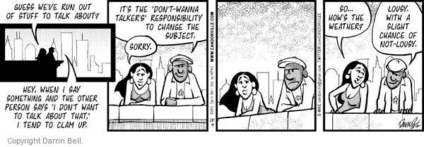 Comic Strip Darrin Bell  Candorville 2010-12-04 guess