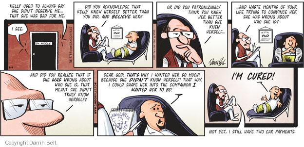 Comic Strip Darrin Bell  Candorville 2010-12-05 car payment