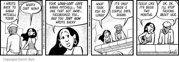 Cartoonist Darrin Bell  Candorville 2010-12-06 delay
