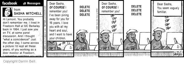 Comic Strip Darrin Bell  Candorville 2010-12-07 love
