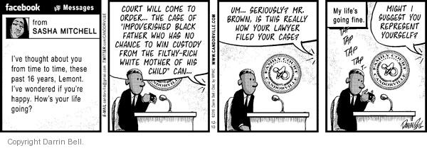 Comic Strip Darrin Bell  Candorville 2010-12-10 representation
