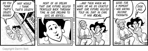 Comic Strip Darrin Bell  Candorville 2010-12-17 reality