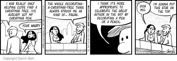 Comic Strip Darrin Bell  Candorville 2010-12-21 decoration