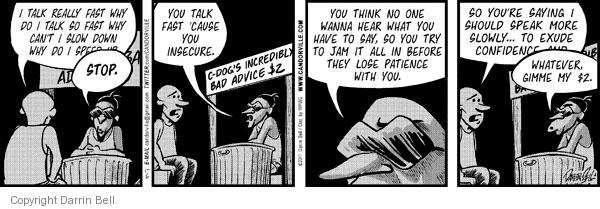 Comic Strip Darrin Bell  Candorville 2011-01-06 suggestion