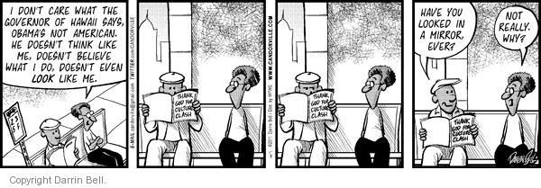 Comic Strip Darrin Bell  Candorville 2011-01-08 care