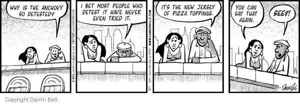 Comic Strip Darrin Bell  Candorville 2011-01-21 preference