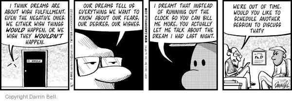 Comic Strip Darrin Bell  Candorville 2011-01-24 fear