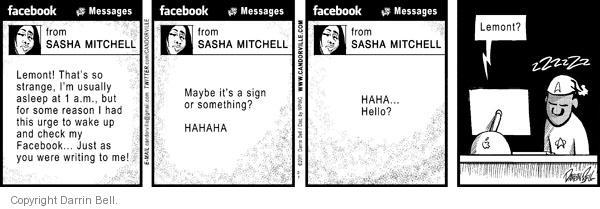 Comic Strip Darrin Bell  Candorville 2011-02-01 something