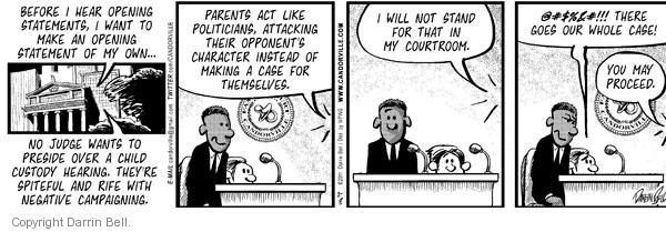 Comic Strip Darrin Bell  Candorville 2011-02-08 statement