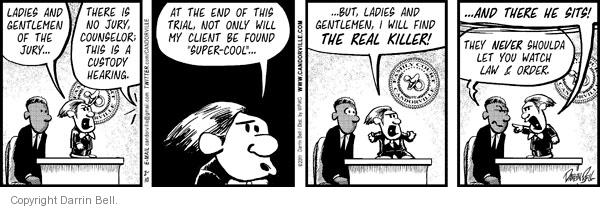 Comic Strip Darrin Bell  Candorville 2011-02-10 courthouse