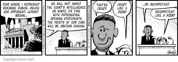 Comic Strip Darrin Bell  Candorville 2011-02-11 statement