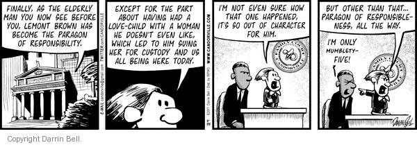 Comic Strip Darrin Bell  Candorville 2011-02-25 age