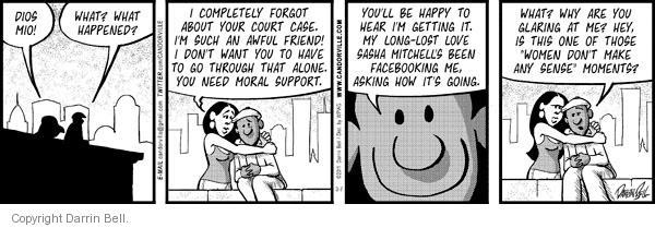 Comic Strip Darrin Bell  Candorville 2011-03-07 friend