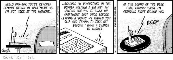 Comic Strip Darrin Bell  Candorville 2011-03-12 bush