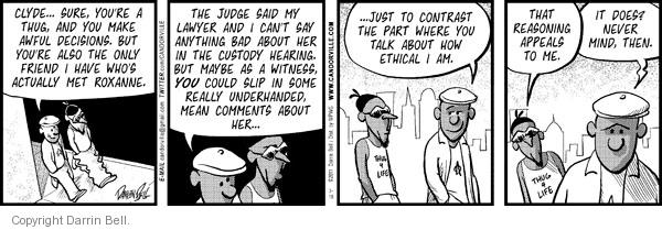 Comic Strip Darrin Bell  Candorville 2011-03-15 ethical
