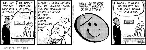 Comic Strip Darrin Bell  Candorville 2011-03-17 beverage