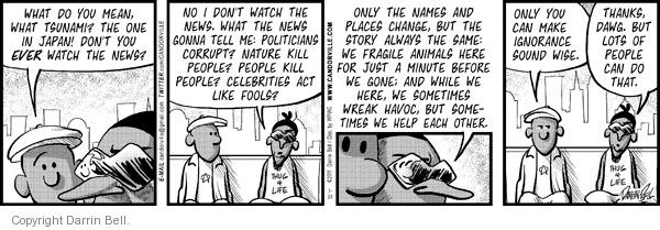 Comic Strip Darrin Bell  Candorville 2011-03-23 natural