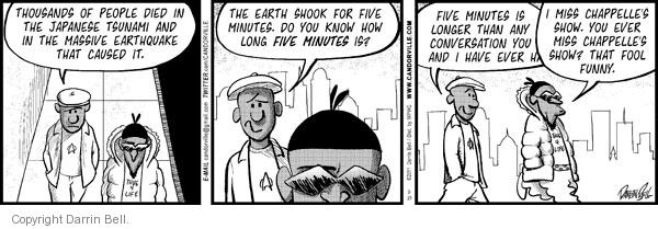 Comic Strip Darrin Bell  Candorville 2011-03-25 natural