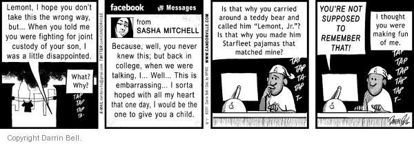 Comic Strip Darrin Bell  Candorville 2011-03-30 fun
