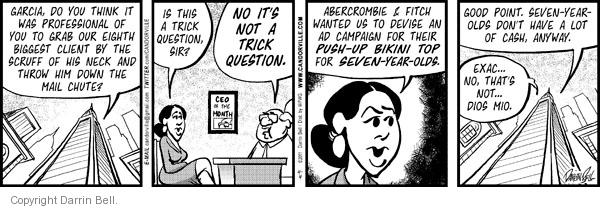 Comic Strip Darrin Bell  Candorville 2011-04-04 retail