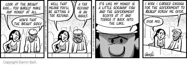 Comic Strip Darrin Bell  Candorville 2011-04-06 tax payment
