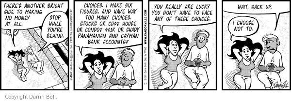 Comic Strip Darrin Bell  Candorville 2011-04-07 CDs