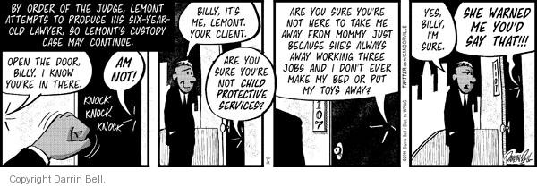 Comic Strip Darrin Bell  Candorville 2011-04-12 lawsuit