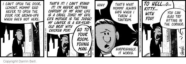 Comic Strip Darrin Bell  Candorville 2011-04-13 throw it in