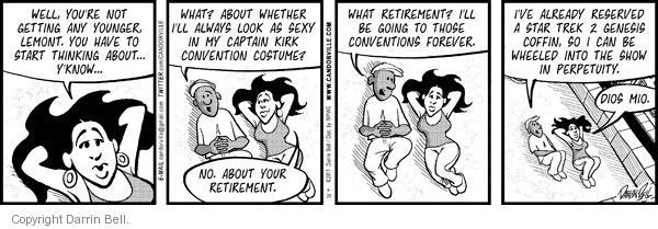 Comic Strip Darrin Bell  Candorville 2011-04-20 anticipation