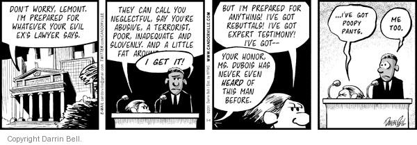Comic Strip Darrin Bell  Candorville 2011-05-06 argument