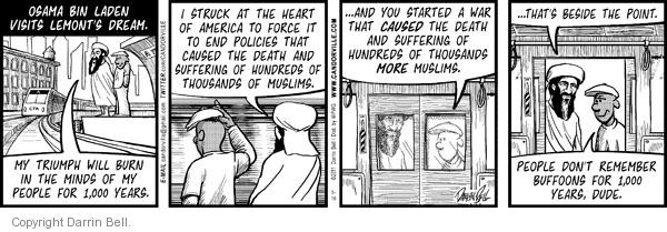 Comic Strip Darrin Bell  Candorville 2011-05-10 war on terror