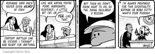 Comic Strip Darrin Bell  Candorville 2011-05-20 superhero