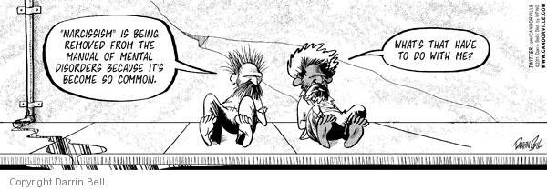 Comic Strip Darrin Bell  Candorville 2011-05-21 common