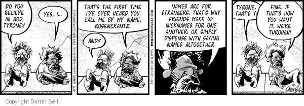 Comic Strip Darrin Bell  Candorville 2011-05-25 believe