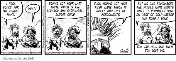 Comic Strip Darrin Bell  Candorville 2011-05-27 first name
