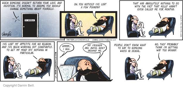 Comic Strip Darrin Bell  Candorville 2011-06-12 rejection