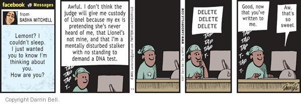Comic Strip Darrin Bell  Candorville 2011-06-06 DNA