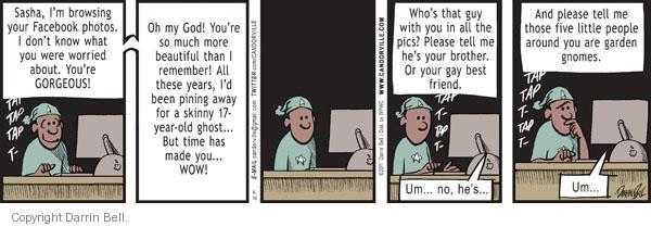 Comic Strip Darrin Bell  Candorville 2011-06-10 link