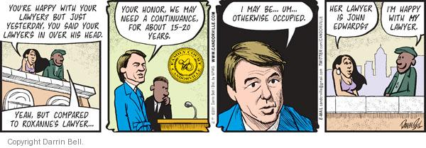 Comic Strip Darrin Bell  Candorville 2011-06-14 honor