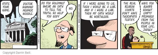 Comic Strip Darrin Bell  Candorville 2011-06-28 honesty
