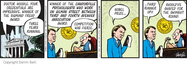 Comic Strip Darrin Bell  Candorville 2011-06-29 physician