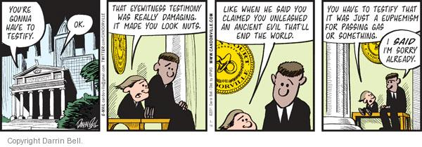 Comic Strip Darrin Bell  Candorville 2011-07-14 attorney