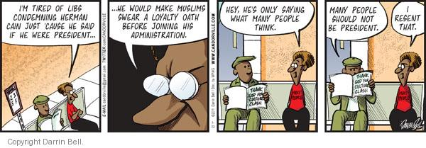Comic Strip Darrin Bell  Candorville 2011-07-23 civil rights