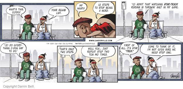Comic Strip Darrin Bell  Candorville 2011-07-24 procedure