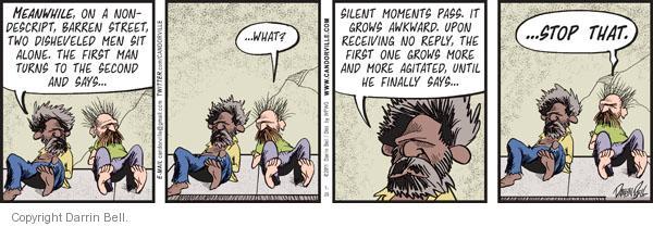 Comic Strip Darrin Bell  Candorville 2011-07-25 man