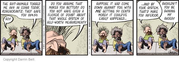 Comic Strip Darrin Bell  Candorville 2011-07-30 values