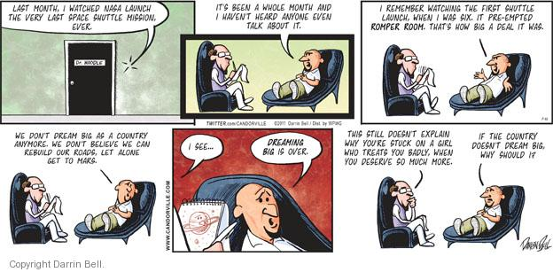 Comic Strip Darrin Bell  Candorville 2011-07-31 psychological