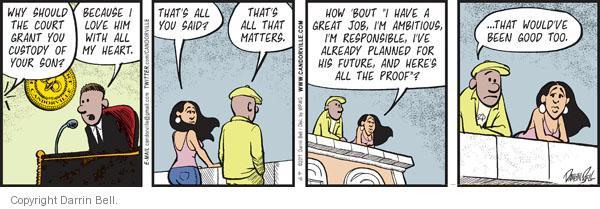 Comic Strip Darrin Bell  Candorville 2011-08-10 good